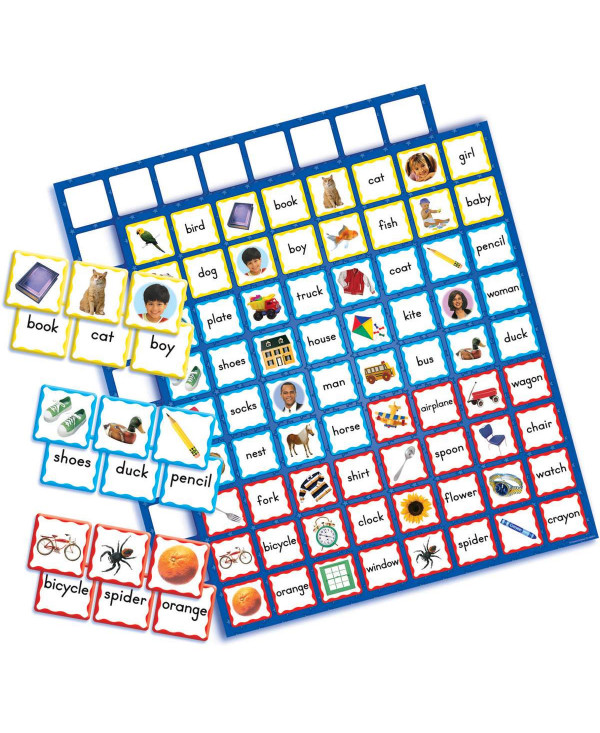 Picture Words Board Game